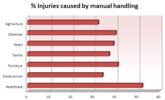 Injuries manual handling status